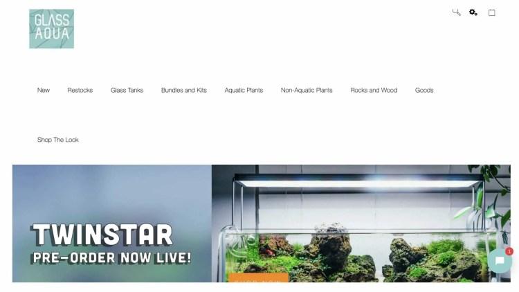 aquarium affiliate programs: Glass Aqua