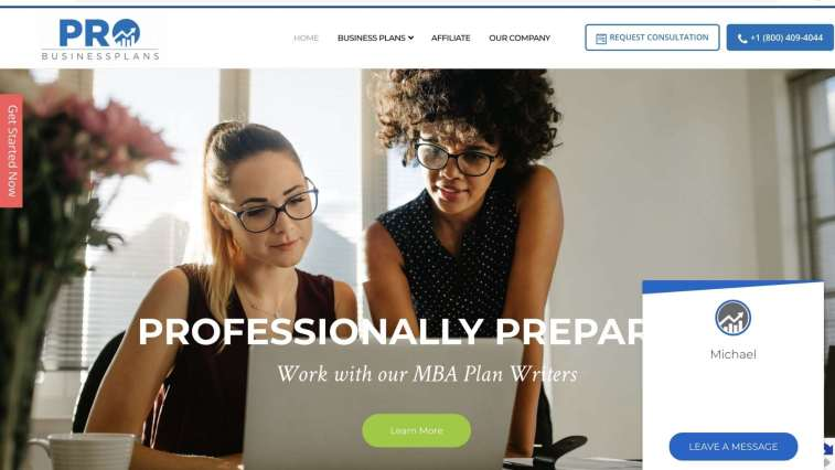 Pro Business Plan affiliate program