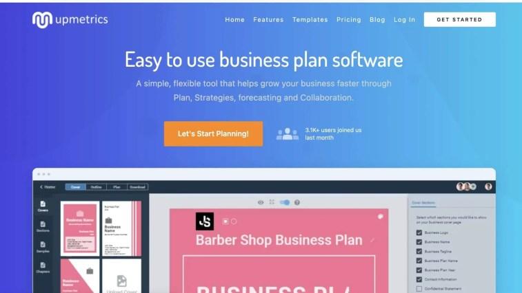 Best Business Plan Affiliate Programs: Upmetrics