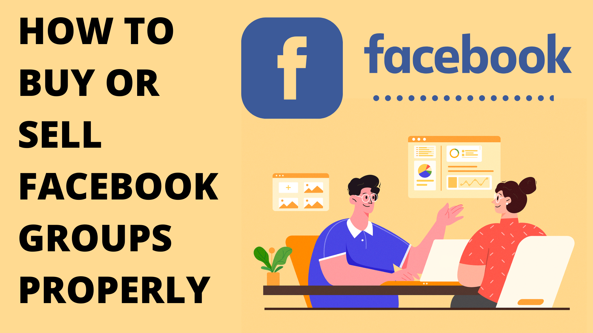 Buy or sell Facebook groups