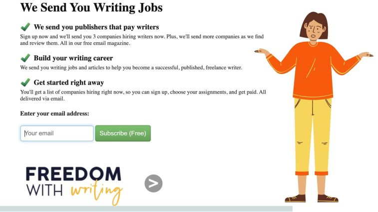 What is Freedom With Writing?