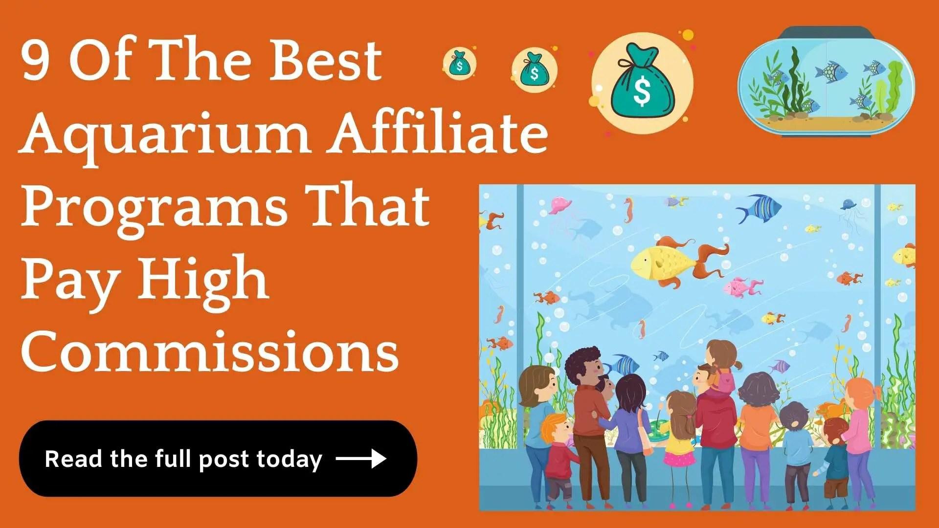 aquarium affiliate programs