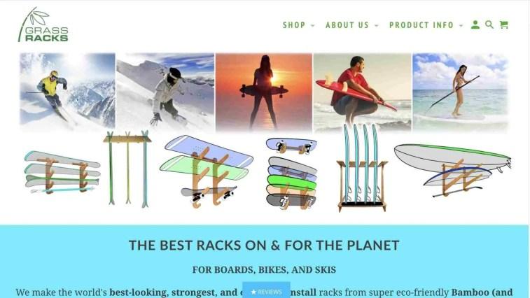 Grass Racks surfing racks affiliate