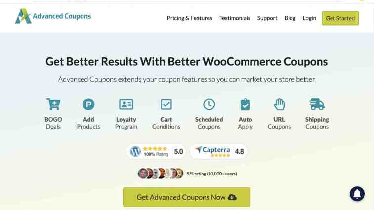 Advanced Coupons affiliate