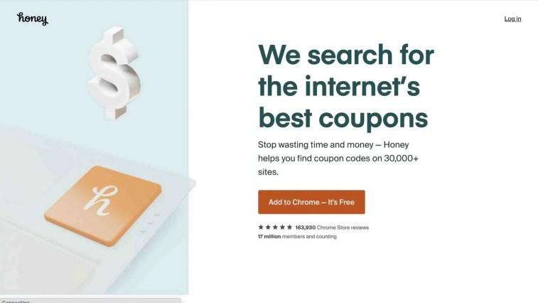 Honey affiliate program
