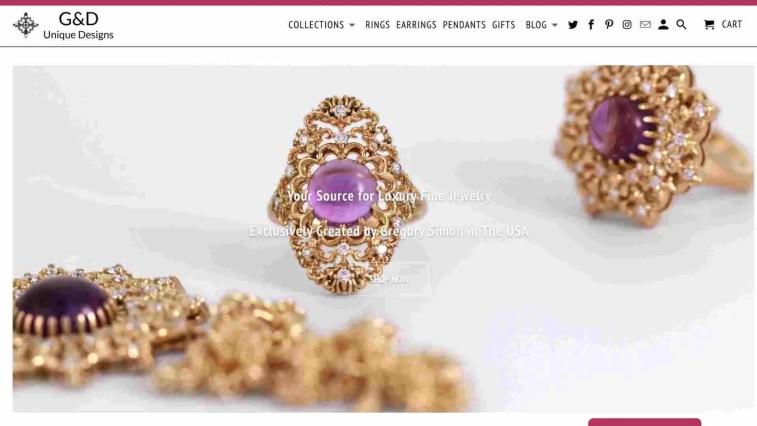 G&D Unique Designs Jewelry affiliate