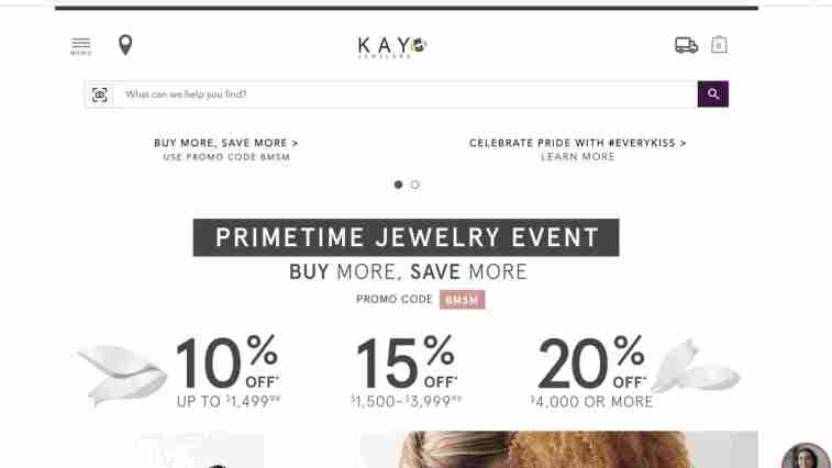 Kay Jewelers affiliate program