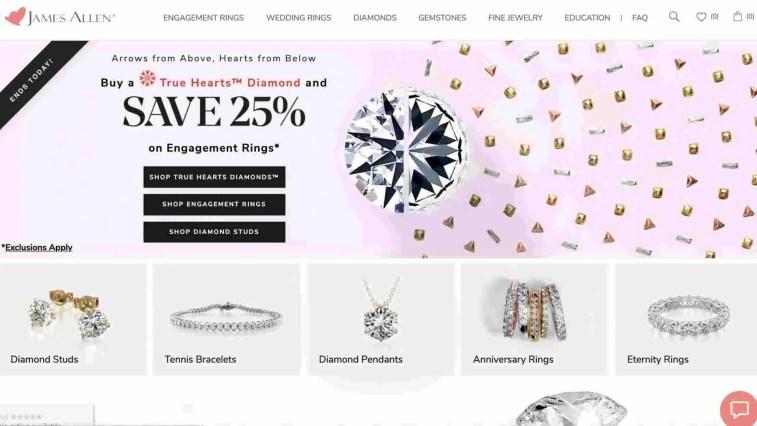 Jeweler Affiliate Program: James Allen