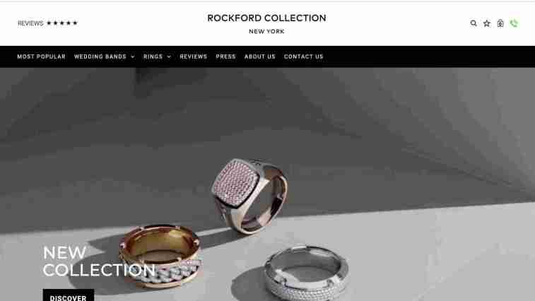 Rockford Collection affiliate for jewelry