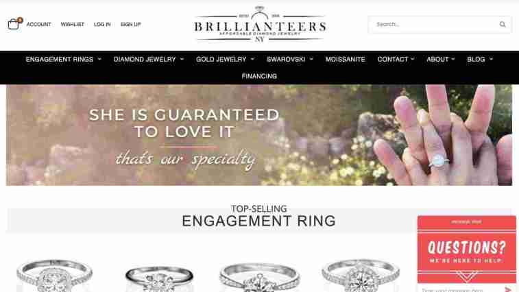 Top Jewelry Affiliate Programs: Brillianteers
