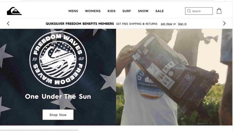 Quicksilver surfing affiliate program