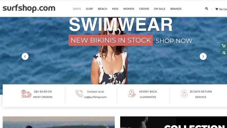 SurfShop affiliate program