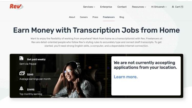 Rev.com Review: Pay To Transcribers