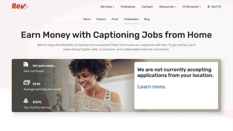 Rev.com Review: Pay To Captioners