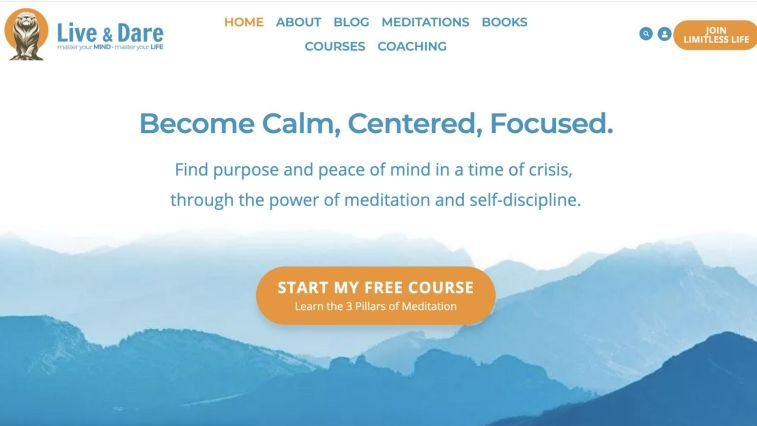 Best Spirituality Affiliate Programs: Live and Dare