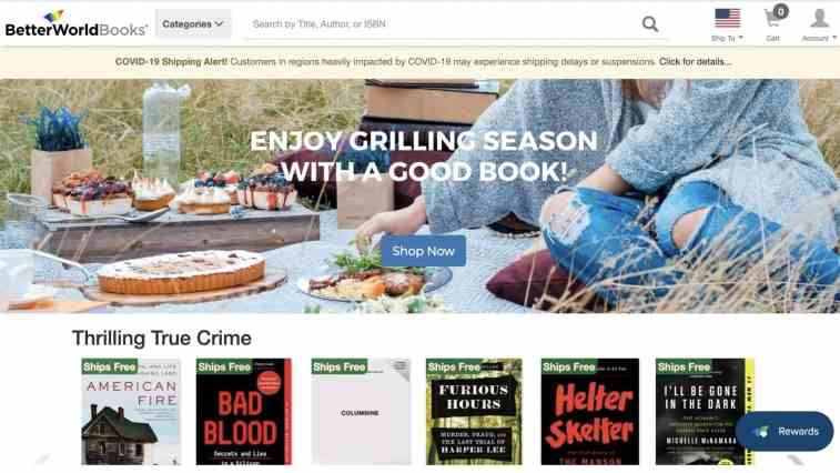 Better World Books non-profit affiliate program