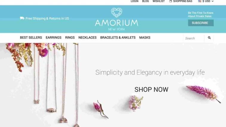 Amorium affiliate program: Best Jewelry Affiliate Program