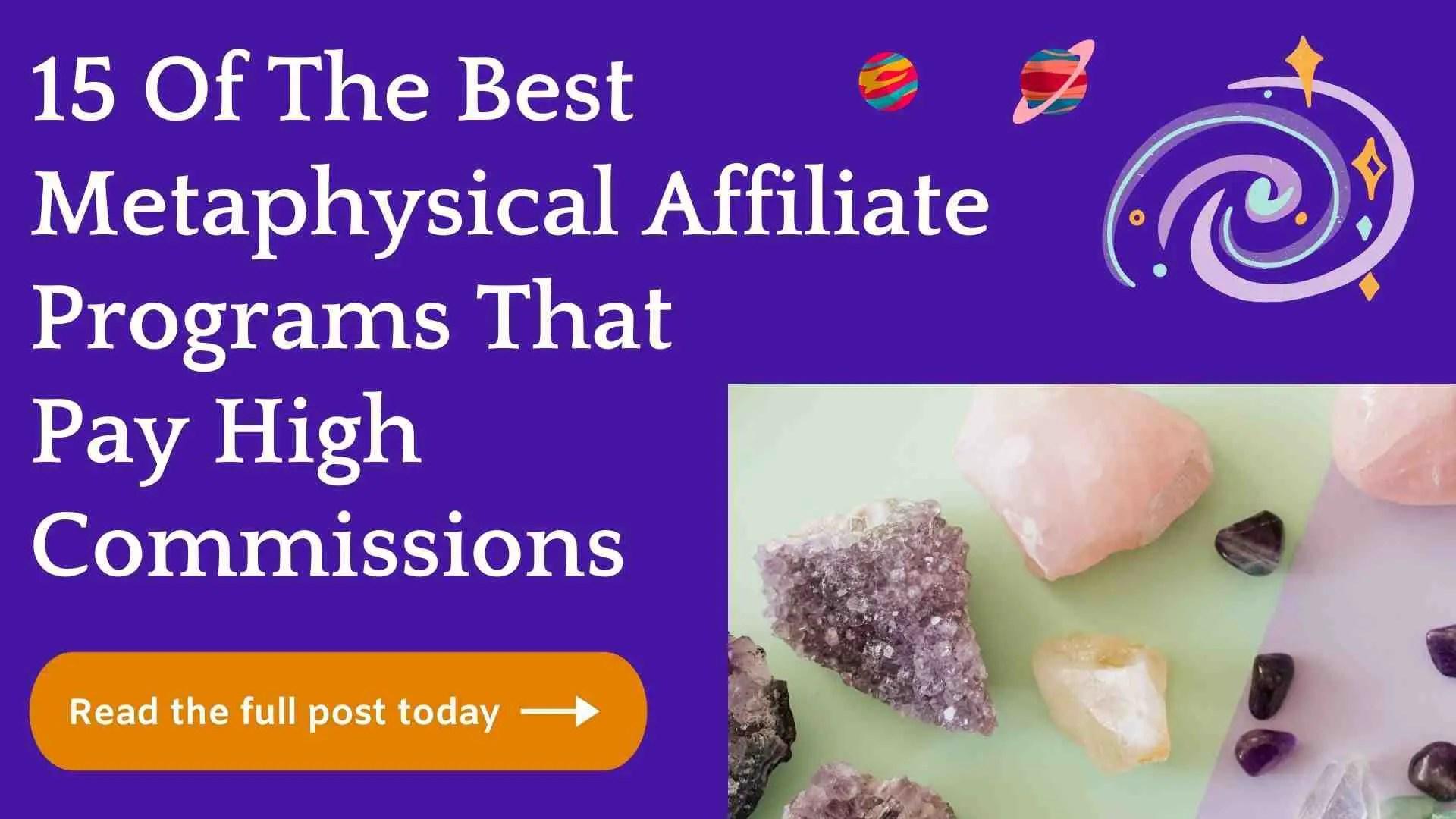 metaphysical affiliate programs