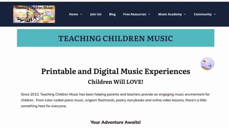 Teaching Children Music Affiliate Program