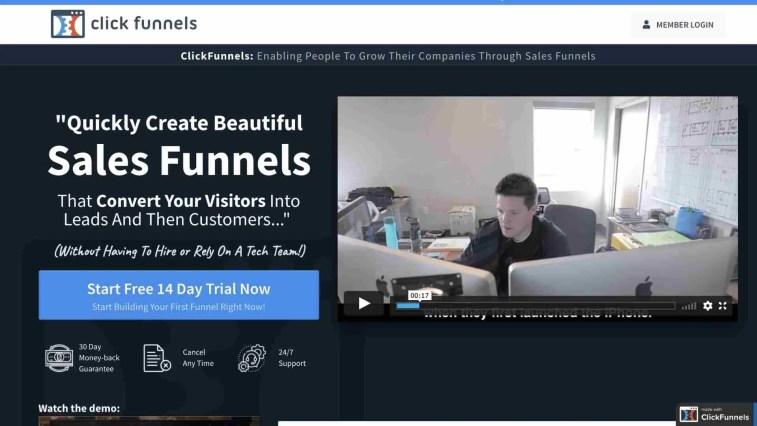 ClickFunnels instant affiliate