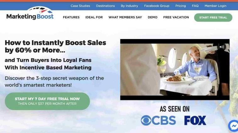 Marketing boost Affiliate program