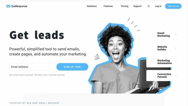 GetResponse: technology affiliate