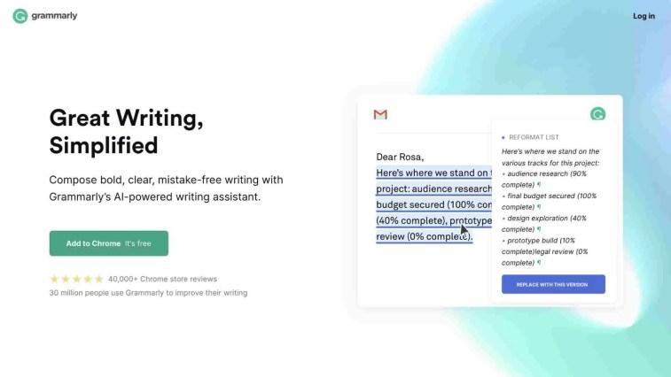 Grammarly 2 tiered affiliate program
