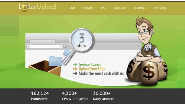 DollarUpload affiliate