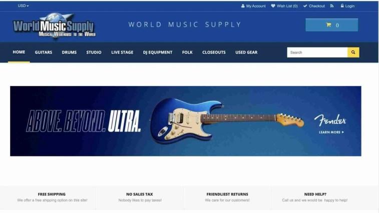 World Music Supply Affiliate Program