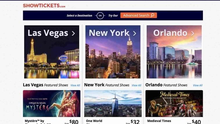 ShowTickets.com Affiliate Program