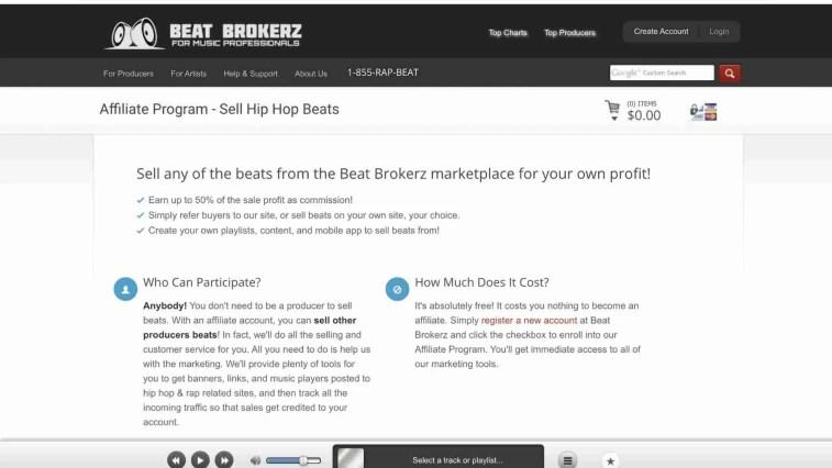 Beat Brokerz Affiliate Program