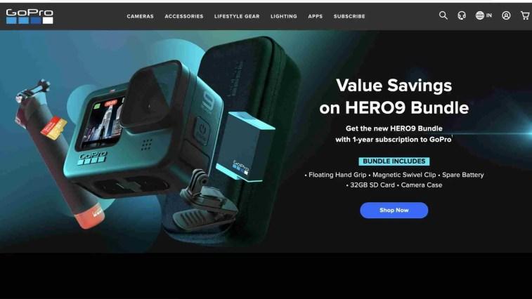 GoPro: tech affiliate programs