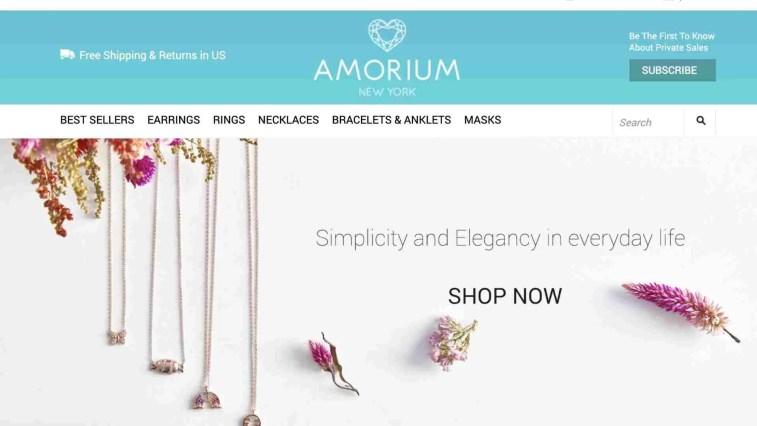 Amorium Affiliate Program Tiered