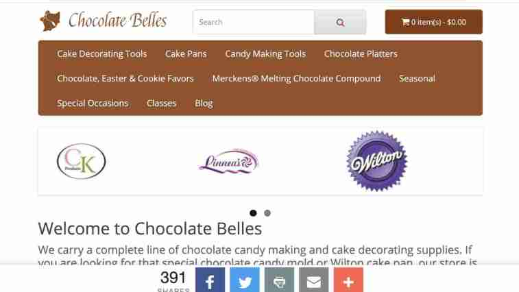 the chocolate belles affiliate