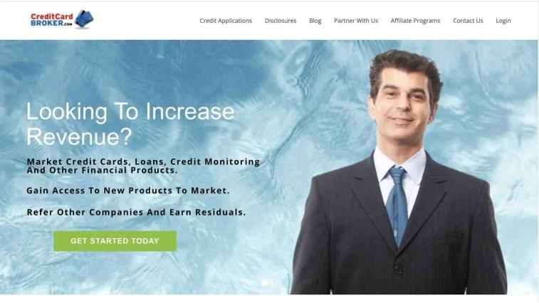 Credit Card Broker Affiliate Program