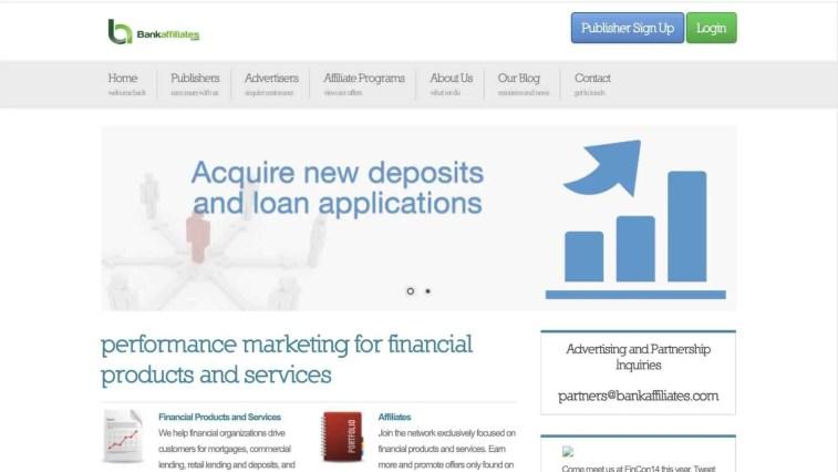 BankAffiliates.com Affiliate Network