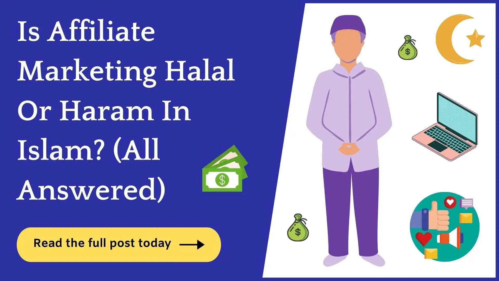 is affiliate marketing halal