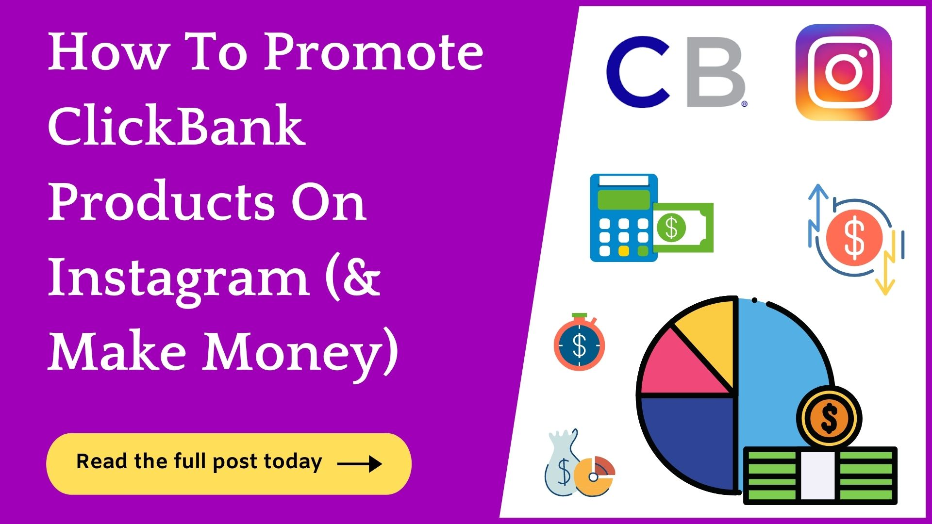 promote clickbank products on Instagram