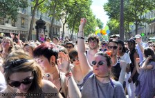 GAYPRIDE 2015 IN PARIS