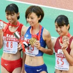 卜部蘭さんが日本選手権で2冠達成