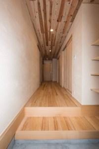 リフォーム後,廊下,自然工房縁