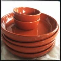 Terra Cotta Dinnerware & Tapas Plates West Elm