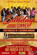 Sunday Dinner, Killeen DVD