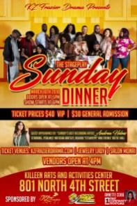 Sunday Dinner, Killeen DVD