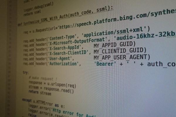 Excelに英文を打ち込んだら、読み上げた音声ファイルmp3を返すサイトの制作