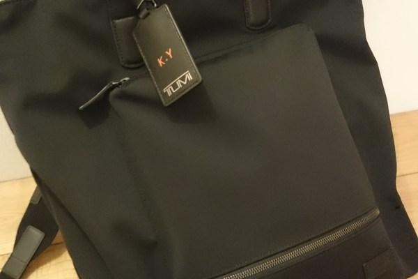 通勤用に初めてバックパックを使う。TUMIの新作はアリです!