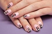 prada-inspired nail art spring