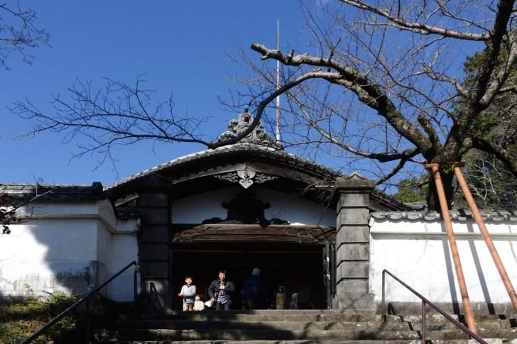 藩主、家老専用の入口、式台玄関