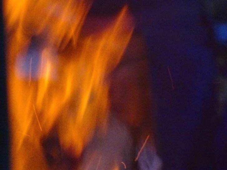 舘山寺・火祭り