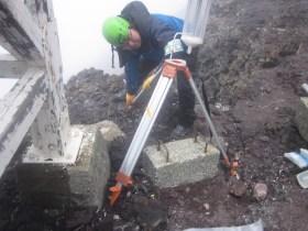 雲水の採取装置を設置